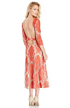 For Love & Lemons San Marcos Maxi Dress in Red S - M | DAILYLOOK