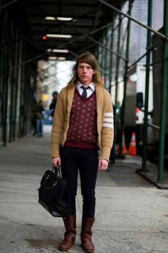 On the Street…..10th Ave., NYC « The Sartorialist