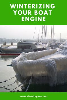 Winterizing your boat engine is all about protecting it from the damage that may be caused by harsh weather conditions. It extends your boat's usefulness and saving you from unnecessary repair costs Boat Engine, Stop Caring, Winter Months, Bitter, Weather Conditions, Engineering, Cold, Cleaning, Shape