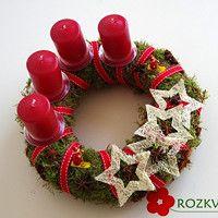 Prodané zboží uživatele Rozkvetlá dílna | Fler.cz Advent, Christmas Wreaths, Holiday Decor, Home Decor, Decoration Home, Room Decor, Home Interior Design, Home Decoration, Interior Design