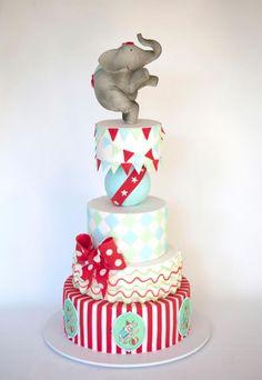 Circus cake - dream cake