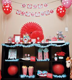 Vintage Carnival Birthday Extravaganza - too funny, I was just thinking about this theme a few days ago!