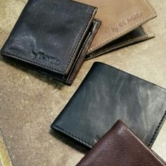 El Mato leather wallets!! Christmas gifts for men!!