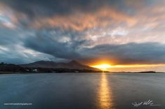 """Irish Coast Photography on Instagram: """"A stormy sunset over Clew Bay  #sunset #sunsetphotography #westport #croaghpatrick  #clewbay #mayo #wanderireland #worldcaptures…"""""""