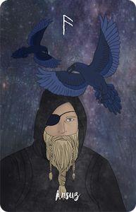 Indie Wild Rune Oracle Cards:
