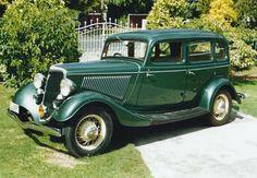 1934 ford | 1934 Ford V8 Green Fordor Sedan