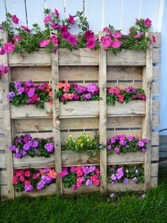 Top 27 Ingenious Ways To Transrofm Old Pallets Into Beautiful Outdoor Furniture DIY Pallet Planters