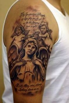 An excellent and mind blowing tattoo design for memorial style tattoos