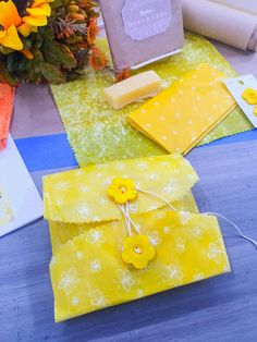 """All Natural """"Beeswraps"""" from @sophieuliano!"""