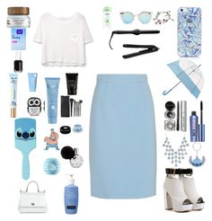"""Blue state"" by mickey733 ❤ liked on Polyvore featuring moda, MANGO, Miu Miu, Dove, Forever 21, Disney, Givenchy, Thalgo, CLEAN y Clean & Clear"
