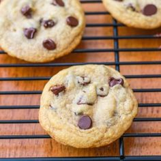 Just made these today...Yummy! THE Chocolate Chip Cookie. Soft, buttery, thick, and chewy. Perfect!