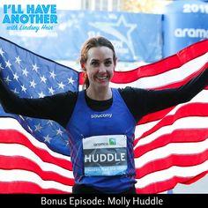 Podcast episode with Half Marathon American Record Holder Molly Huddle! On her record and training for the 2018 Boston Marathon! #womensrunning #bostonmarathon #run #houstonhalfmarathon #strongwomen