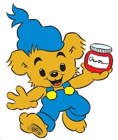 """Bamse – """"The world's strongest bear"""" — is a Swedish cartoon created by Rune Andréasson. An everyday Swedish superhero bear, that is. Right In The Childhood, Childhood Memories, Childhood Characters, Disney Characters, Dancer In The Dark, Nerd, Drawn Art, Funny Illustration, Classic Tv"""