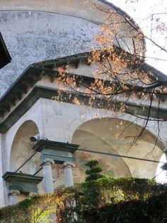 Sacro Monte Varallo UNESCO - foglie di fuoco #sacrimontisocial