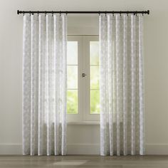 Lila Curtains | Crate and Barrel