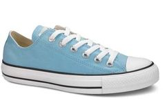 $45.99 Converse Chuck Taylor All Star Lo Top Sky Blue 125804F men's 8/ women's 10 - Time for a change. Seasonal color and material updates on our most iconic blank canvas known for staying true even as it changes things up. http://www.amazon.com/dp/B005BH5IKE/?tag=icypnt-20
