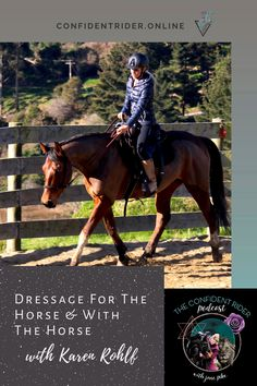 What it means to create a happy and empowered partnership with your horse by bringing together the best of the worlds of dressage and partnership-based training including >> Confident Rider - mindset, movement and nervous system awareness for equestrians