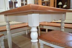 rohová lavica,vidiecka lavica ANREI,stôl,stoličky - 1
