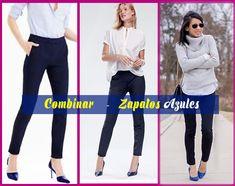 23 Ideas De Zapatos Azules Outfit Como Combinar Zapatos Azules Zapatos Azules Mujer Comiendo