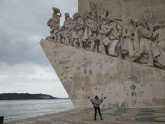 le monument des découvertes - Lisbonne - Février 2016