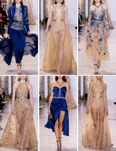 Eternal Contradiction, fashion-runways:    ELIE SAAB at Couture Spring...
