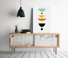 *** Scandinavian Poster, Mid-Century Art, Modern Print, Minimal Print, Nordic Poster, Printable Geometric Art, Geometric Print, INSTANT