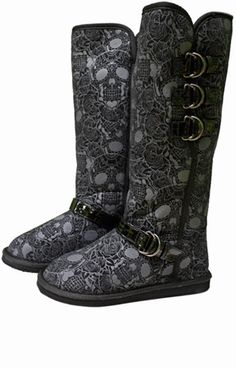 IRON FIST MOTO PSYCHO BOOTS      Price:		$40.00