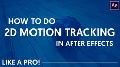 Perfect Motion Tracking in After Effects with fayIN | Tutorial by Dope Motions™