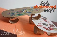 Kids Skateboard Craft