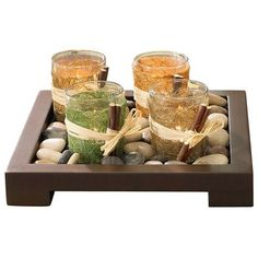 Tealight Candlescape - Set of 4