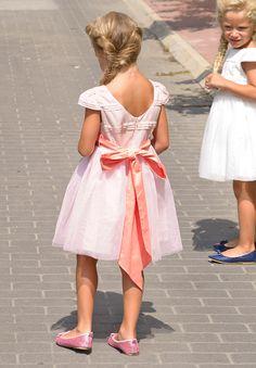Robe Cérémonie fille en tulle rose : Mariage et Cortège
