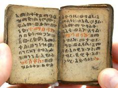 Ethiopian prayer book
