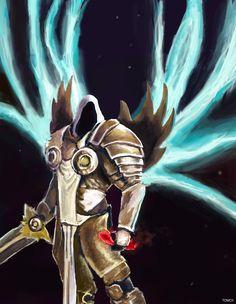 Painting of Tyrael from Diablo  #tyrael #digitalart #digital #art #painting #drawing #illustration #tyrael #diablo #blizz #blizzard #angel #warrior #fighter #krieger #kämpfer #ritter #knight #demon #demons #ros #reaperofsouls #orcs #warcraft #wow #games #videogames #hots #heroes #thrall #orc #horde #alliance #warcraft #starcraft #engel #fantasy #rpg #raynor #kerrigan #tomcii #raynor #zerg #protoss #human #terran #barbarian #crusade #crusader #paladin #witch