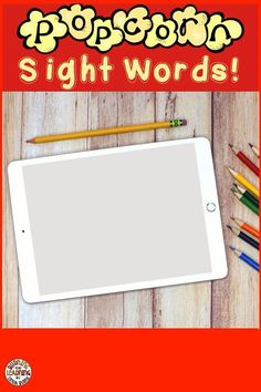 Popcorn Sight Words Boom Cards for Distance Learning Number Line Activities, Sight Word Activities, Kindergarten Curriculum, Kindergarten Reading, Reading Resources, Math Resources, Popcorn Words, 30th, 21st