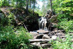 Black River Falls Ishpeming, Michigan in Marquette County