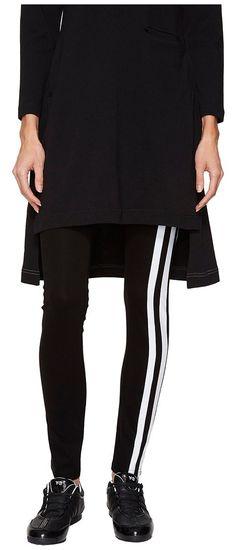adidas Y-3 by Yohji Yamamoto Light Track Leggings (Black) Women's Casual Pants - adidas Y-3 by Yohji Yamamoto, Light Track Leggings, BR3391-001, Apparel Bottom Casual Pants, Casual Pants, Bottom, Apparel, Clothes Clothing, Gift, - Street Fashion And Style Ideas
