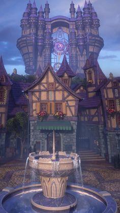 Kingdom Hearts Games, Kingdom Hearts Fanart, Cry Anime, Anime Art, Kingdom Hearts Wallpaper, Mac Backgrounds, Kindom Hearts, Girls Anime, Fantasy Places