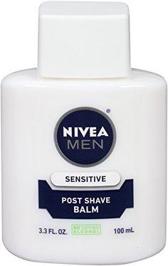 NIVEA MEN Sensitive Skin After Shave Balm 100ml (Pack of 4): Amazon.ca: Beauty