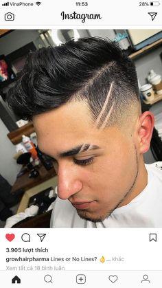 Cortes de pelo con una linea