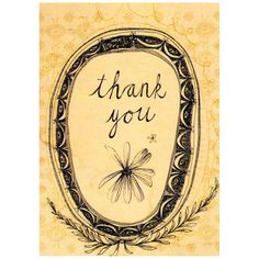 Thank You| Card