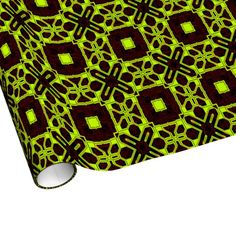 Techno 4 Wrapping Paper