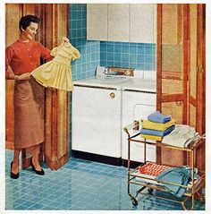 Look what appliances did for Mother's little angel.