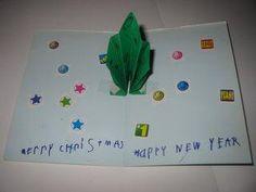 Diy christmas cards diy do it yourself christmas cards aka we diy christmas card diy christmas craft for kids pop up christmas tree solutioingenieria Images