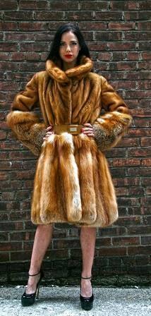 Designer Hooded Casper Demi Mink Fur Jacket 97332 Image   fabulous ...