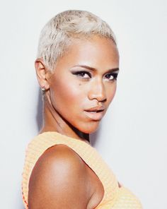Relaxed Hair by AfroAvenue on Pinterest | Short Cuts, Black Women and ...