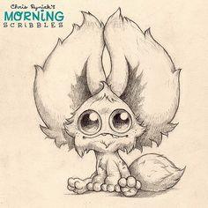 All ears.  #morningscribbles | 출처: CHRIS RYNIAK