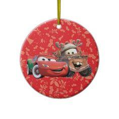 Lightning & Mater Ornament