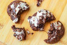York Peppermint Patty Fudge Cookies #cookies