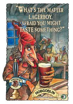 Hobgoblin beer wychwood character