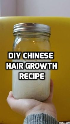 DIY fast hair growth with a Chinese recipe that is easy and effective. Get this tutorial and more from www.allorganichairgrowth.com